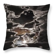 Another Sky Throw Pillow by Rona Black