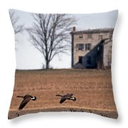 Another Time Throw Pillow by Skip Willits
