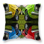 Any Flavor You Like Throw Pillow by Gordon Dean II