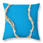 Aphrodite Mechanitis Necklace Throw Pillow by Augusta Stylianou