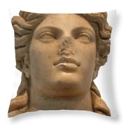 Aphrodite The Goddess Of Love And Beauty  Throw Pillow by Tracey Harrington-Simpson