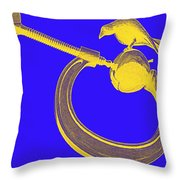 Apple And Clamp Throw Pillow by Randall Weidner