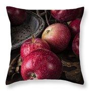 Apple Still Life Throw Pillow by Edward Fielding