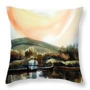 Approaching Dusk I Throw Pillow by Kip DeVore