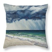 Approaching Gail Throw Pillow by Danielle  Perry