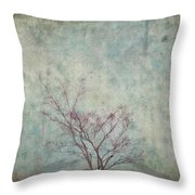 Approaching Spring Throw Pillow by Carol Leigh