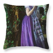 April Love Throw Pillow by Philip Ralley