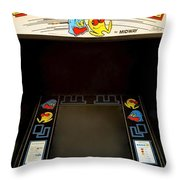 Arcade Madness Throw Pillow by Frozen in Time Fine Art Photography
