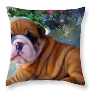Are You Looking At Me Throw Pillow by Bruce Nutting