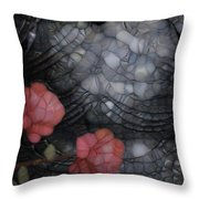 Armour And Rose 2 Throw Pillow by Jack Zulli