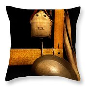 Army - Life In The Military Throw Pillow by Mike Savad