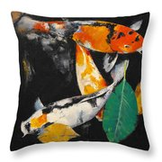 Around And About Throw Pillow by Michael Creese
