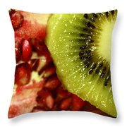 Artistic Moments With Food Throw Pillow by Inspired Nature Photography Fine Art Photography