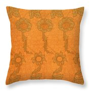 Arts And Crafts Design Throw Pillow by William Morris