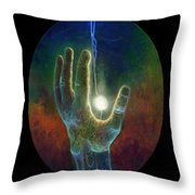 Ascension Of The Soul Throw Pillow by Kd Neeley