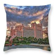 Atlantis Throw Pillow by Olga Hamilton