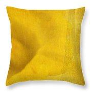 Au Coeur De La Jonquille Throw Pillow by Lisa Knechtel