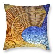 Auditorium Throw Pillow by Mark Howard Jones