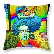 Aurora Throw Pillow by Chuck Staley