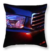 Auto Headlight 167 Throw Pillow by Sarah Loft
