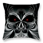Automaton Throw Pillow by Kevin Trow