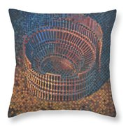 Autumn Amphitheatre Throw Pillow by Mark Howard Jones