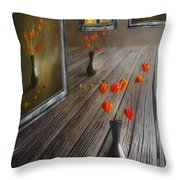 Autumn Colours Throw Pillow by Veikko Suikkanen