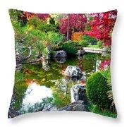 Autumn Dream Throw Pillow by Carol Groenen