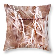 Autumn In The Country Throw Pillow by Angie Rea