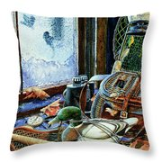 Autumn Memories Throw Pillow by Hanne Lore Koehler