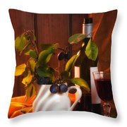 Autumn Still Life Throw Pillow by Amanda And Christopher Elwell