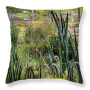 Autumn Swamp Throw Pillow by Bill  Wakeley