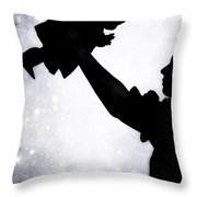Baby Doll Throw Pillow by Joana Kruse