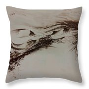 Babylon Throw Pillow by Rachel Christine Nowicki