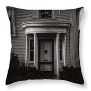 Back Home Bar Harbor Maine Throw Pillow by Edward Fielding