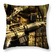 Back Home Throw Pillow by David Morefield