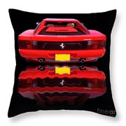 Back Is Beautiful Throw Pillow by Jim Carrell