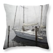 Bad Weather Throw Pillow by Brian Wallace