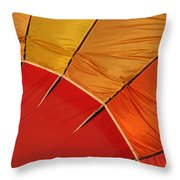 Balloon Fest Throw Pillow by Art Block Collections