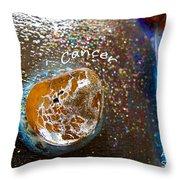 Barack Obama Mercury Throw Pillow by Augusta Stylianou