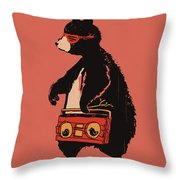 Bare necessity Throw Pillow by Budi Kwan