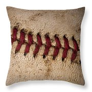 Baseball - America's Pastime Throw Pillow by David Patterson