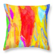 Bathing Beauties Throw Pillow by Kenny Francis