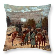 Battle of Chattanooga Throw Pillow by American School