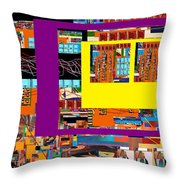 be a good friend to those who fear Hashem 12 Throw Pillow by David Baruch Wolk