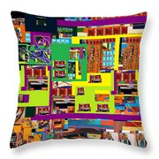 be a good friend to those who fear Hashem 13 Throw Pillow by David Baruch Wolk
