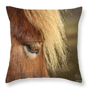 Be A Light To Yourself Throw Pillow by Evelina Kremsdorf