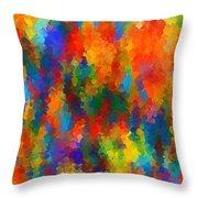 Be Bold Throw Pillow by Lourry Legarde