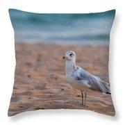 Beach Patrol Throw Pillow by Sebastian Musial