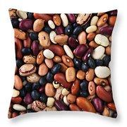 Beans Throw Pillow by Elena Elisseeva